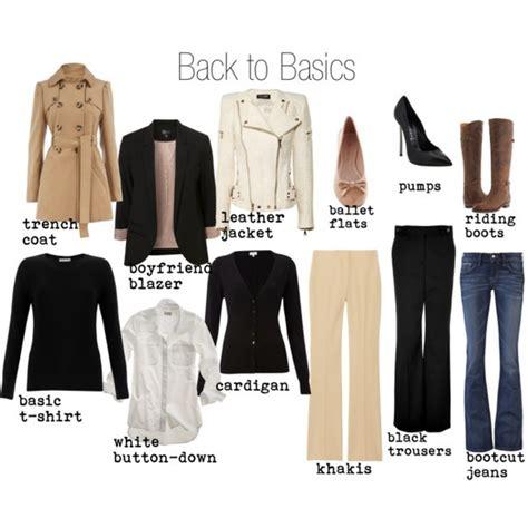 fashion basics wardrobe essentials fashion