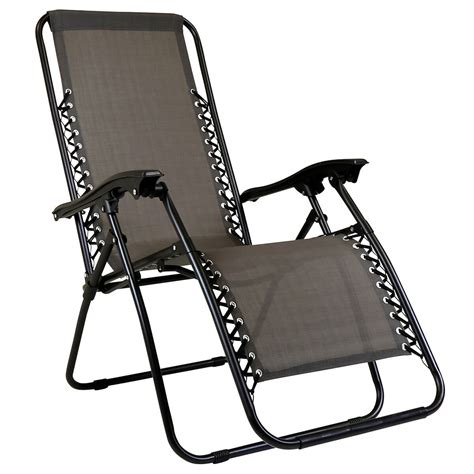 Zero Gravity Recliner Chair Clearance by Charles Bentley Garden Sun Loungers Zero Gravity Grey
