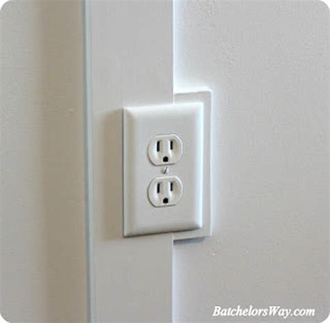 moulding around light switch board and batten outlet tutorial sawdust 174