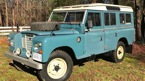 land rover series 3 109 land rover 109 series iii station wagon youtube