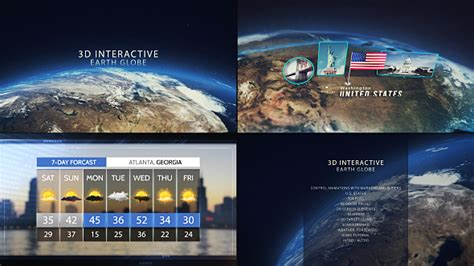 3d Interactive Earth Globe After Effects Template Videohive 19581834 Ae Templates Videohive 3d Globe After Effects Template