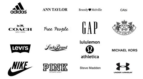 What Makes A Clothing Brand - pin by vina beegee on inspiration logo logos