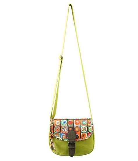 Corduroy Sling Bag Shuffle Bag anekaant whimsical green corduroy sling bag buy anekaant