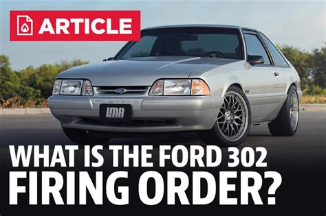 Ford 302 Firing Order by What Is The Firing Order For A Ford 302 Motor Lmr