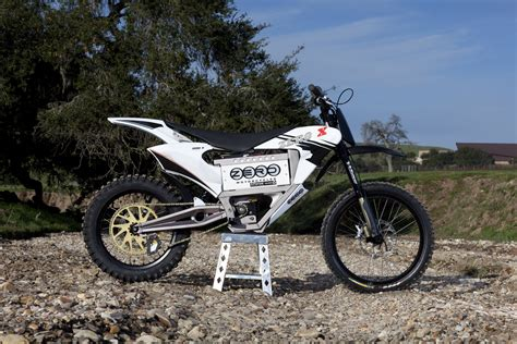 2010 Zero X Electric Motorcycle: Zaca Station   Creek