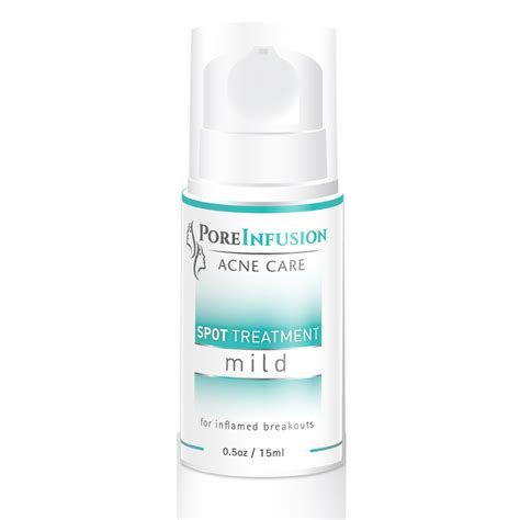spot treatment peroxide spot treatment mild envision skin care center poreinfusion acne care products