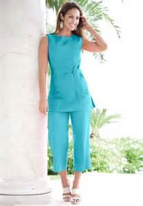 plus size capri pants sets 171 clothing for large ladies