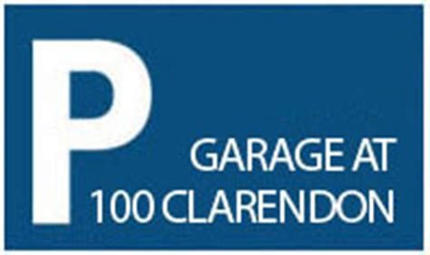 100 Clarendon Garage Rates by Parking Garage Boston Parking Clarendon Garage