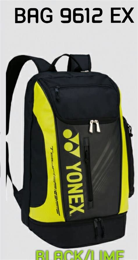 Tas Ransel Petter Point Backpack Kuning jual perlengkapan olahraga bulutangkis badminton aksesoris baju celana grip karpet lapangan