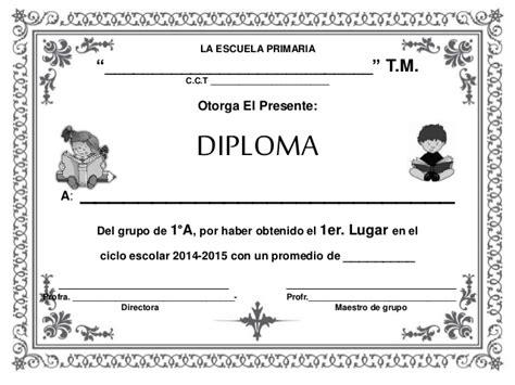 diplomas de primaria descargar diplomas de primaria diplomas