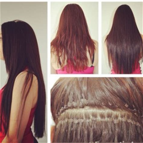 beaded hair extensions pros and cons chicago micro bead hair extensions salon