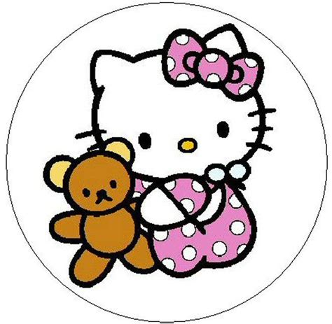 Cincin Hellokitty 1 hello baby 1 quot sticker seal labels ebay