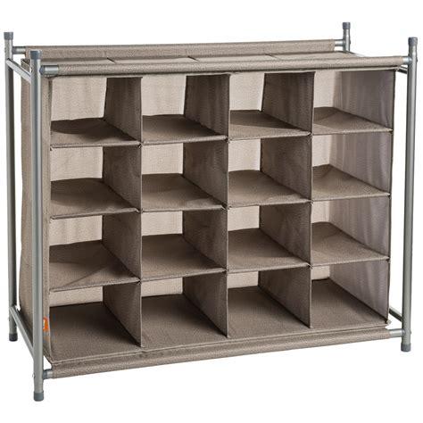shoe compartment storage neatfreak 174 16 compartment shoe organizer save 40