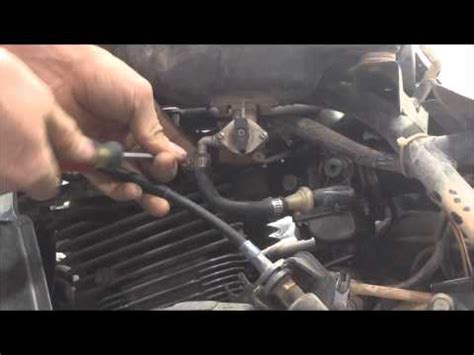 Suzuki Eiger Change How To Change The Fuel Valve On A Suzuki Eiger