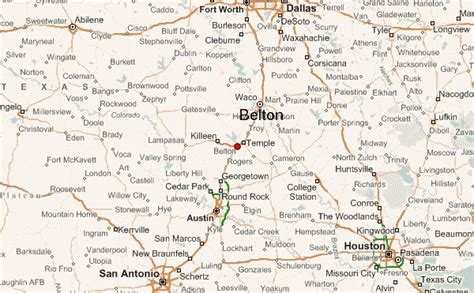 map of belton texas belton texas location guide