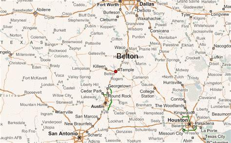 belton texas map belton texas location guide