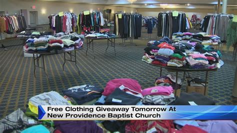 Free Clothing Giveaway - free clothing giveaway saturday at detroit church
