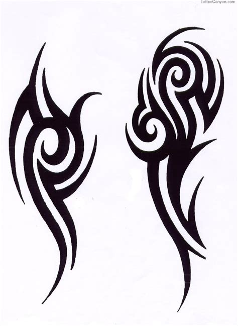 simple design of tattoo best 25 simple tribal tattoos ideas on