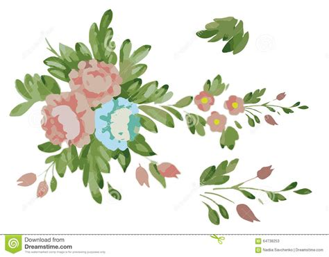 clipart fiori blue flower clipart pink flower pencil and in color blue