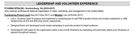 Resume With Volunteer Experience by How To Include Volunteer Experience On A Resume Topresume