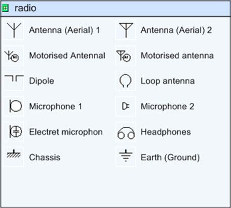 visio radio paul herber s electronics shapes