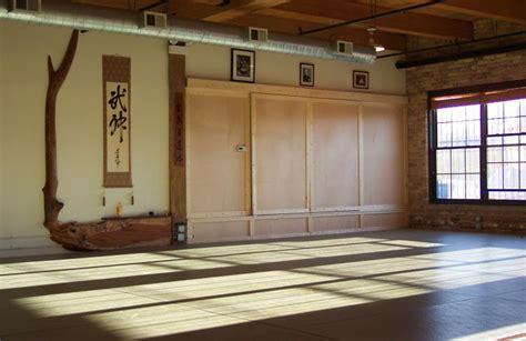 dojo layout elements about northwestern aikido club