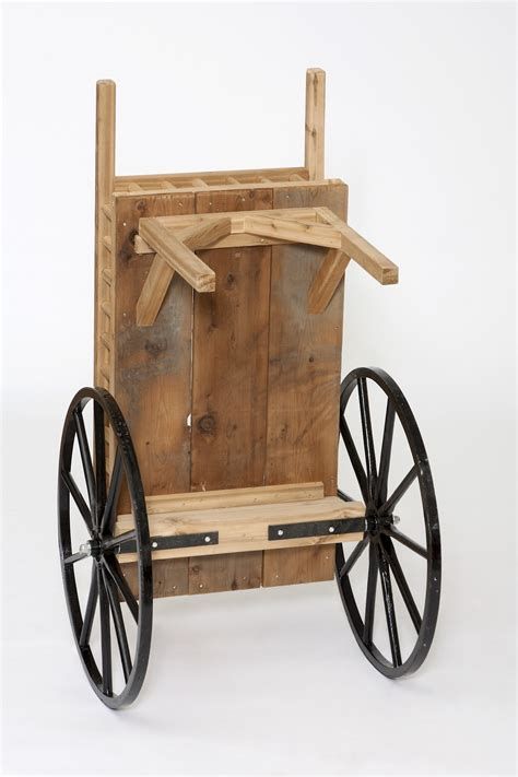 wooden peddler cart amish  amishshopcom