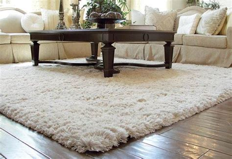 Karpet Bulu Sintetis Ruang Rusa ruang tamu dengan karpet bulu nirwana deco jogja