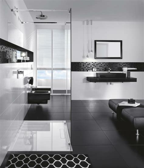 modern black and white bathroom black and white bathroom designs for a chic style modern