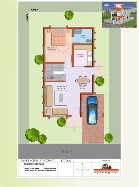south east facing house plans east facing house vastu plan in tamilnadu escortsea