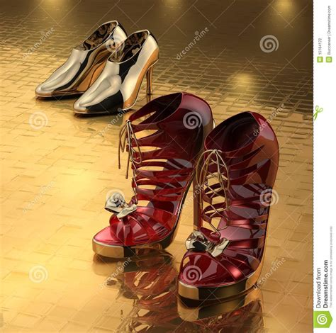 Two Pairs Of Shoes by Two Pairs Of Shoes Stock Photography Image 15184172