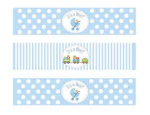 baby shower label template water bottle labels free baby shower search