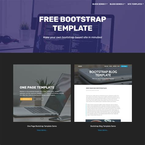 80 Free Bootstrap Templates You Can T Miss In 2019 Free Bootstrap Templates