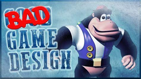 game design qualifications uk bad game design donkey kong 64 doovi