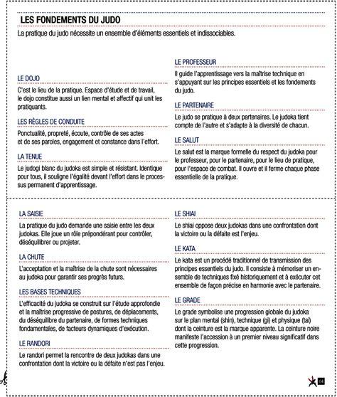 Informations Budo