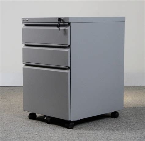 Movable Storage Drawers 3 Drawers Steel Movable File Cabinet Small Mobile Storage