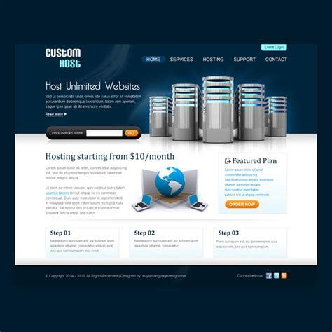 Best Web Hosting Website Template Design Psd Purchase Website Templates
