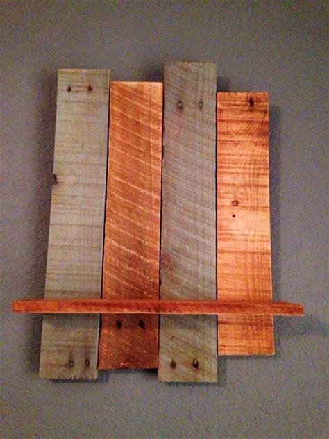 wood pallet shelves diy rustic pallet wall shelf 101 pallets