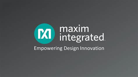 maxim integrated products dividend maxim integrated products mxim investor presentation slideshow maxim integrated products