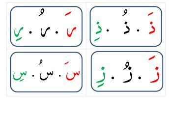 printable arabic alphabet flash cards arabic alphabet vowels flash cards by raki s rad language
