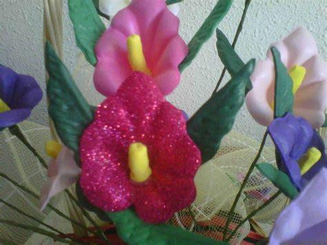 flores de foamy como hacer flores de foamy aprender manualidades es