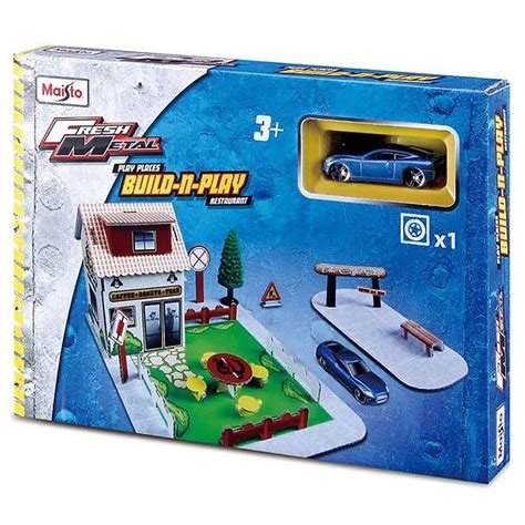 Maisto Play by Maisto Fresh Metal Paper City Build And Play Kit Ebay