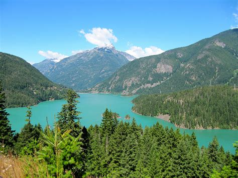 Diablo Lake Cabins by Colonial Creek Cground Cascades National Park