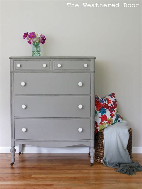 White And Gray Dresser by Light Colored Wood Furniture Furniture Design Ideas