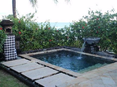 Backyard Guest Room Villa Plunge Pool Picture Of Pan Pacific Nirwana Bali