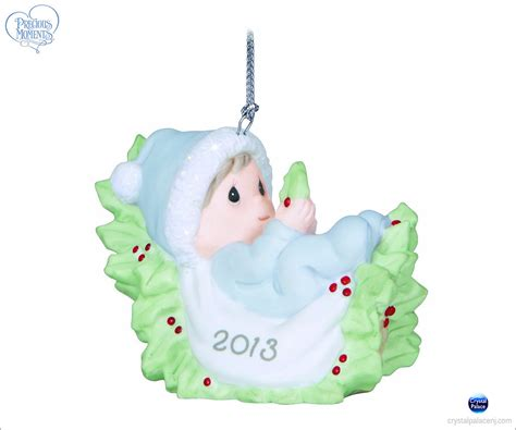 precious moments dated ornaments precious moments baby s dated 2013 boy