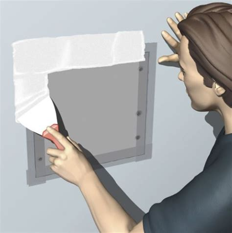 How To Patch A In Ceiling Drywall by Best 25 Drywall Repair Ideas On How To Patch