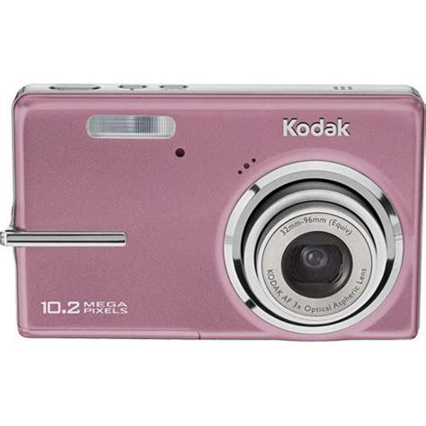 Pink Leather Digital By Kodak by Kodak Easyshare M1073 Is Digital Pink 1735364 B H