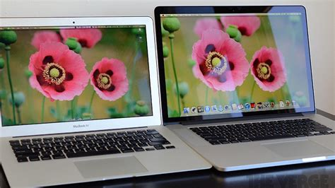 Mbp Vs Mba 2014 by New Macbook Pro With Retina Display Vs Macbook Air In
