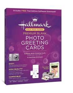 glossy printable greeting cards hallmark half fold glossy premium photo greeting cards 15
